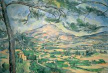 ART - Modern Masters / Dali, Gauguin, van Goh, de Kooning, Matisse, Monet, O'Keefe, Picasso, Renoir, Rivera / by Joan P Lane