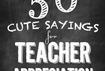 Teacher gifts / by Whitney Gilliland