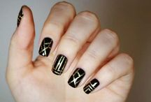 Nails  / Nail art, manicures and varnishes  / by Mary-Ann Cummings