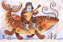 illustrators - Дарья Герасимова / by Yelena Shabrova