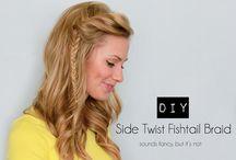 hair styles / by Amy Malanchuk-Elam