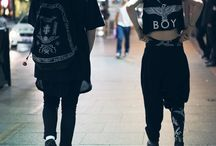 Boy London Spotted on the Street! / by Sneak Outfitters