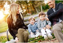 Family Photography Posing / Ideas for posing families during portrait sessions / by Katie Chisholm