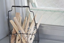 Clothespins..... / by Lucila Sedano