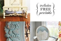 paint, refinishing, re-upholstery & DIY / by Amy Akins