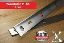 WoodStar Planer Blades / by Woodford Woodworking Tools and Machines UK.