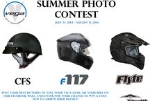 Summer Photo Contest / Visit our Facebook Page https://www.facebook.com/VegaHelmetUSA and post your best Motorcycle lifestyle photos on our wall. Get pictures of your awesome bike, cool custom paint job, or you in you Vega gear. All appropriate photos will be accepted. Official Rules at: http://www.vegahelmet.com/news.html  Contest Runs July 14, 2014 - August 31, 2014  We will periodically post our best contest pictures in this folder for everyone to enjoy.  / by Vega Helmet