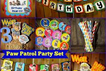 Parker's paw patrol party / Birthday party ideas for 2nd birthday  / by Karen Spear