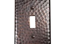 Copper & Nickel Switch Plates / Copper Switch Plate Cover-RusticSinks.com / by Rustic Sinks