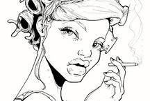 Everything Illustration / There's nothing like beautiful illustration  / by Sherine Goslyn