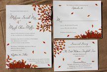 Fall Wedding Invitations / by InvitesWeddings