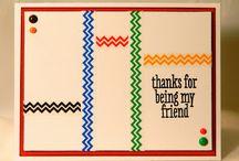 Friendship Card Inspiration / by Patty Albertson