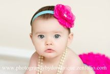 kendall 6 month picture ideas / by Delisa Hinton