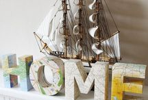 For the Home / Home decor ideas. Furniture ideas, DIY art for the home / by Rikelle Sanchez Brande