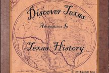 Discover Texas History / Fun ways to learn about the great state of Texas. / by Lynn Dean