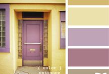 Purple & yellow / by Kim Hart
