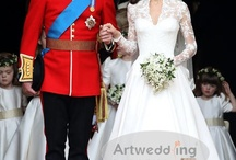 Celebrity Wedding Dresses  / by Artwedding.com