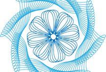 String art - spirograph / by Jacqueline Bayliff