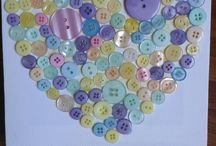 Buttons / by Pink Peppermint Crafts