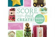 Scor-Pal / All about Scor-Pal Ideas and Projects that you can do with this scoring paper folding tool. / by CutAtHome