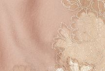 organza / light, delicate and airy. the look is diaphanous layers of sheer slik organza and tulle.  the clolour palette is a muted combination of soft neutrals: ivory, cream, porcelain pink...   / by The Tiny Card Company