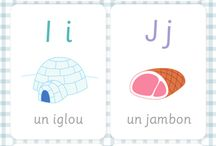 French / Family learning in French.  / by Lea