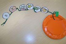 classroom - pumpkin activities / by Sonya Vittiglio