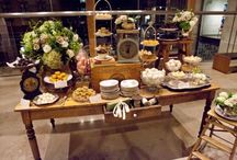 Wedding dessert tables / by James Busam
