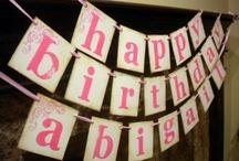 Grae's First Birthday / by Jen | Mama.Papa.Bubba.