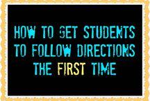 Classroom procedures / by Jessica Lancaster