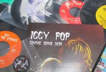 "Iggy Pop / Iggy Pop – Gimme Some Skin – (The 7"" LP Collection) Special limited edition 7"" box set from the undisputed king of modern punk rock, Iggy Pop! / by Cleopatra Records"