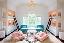 Nesting: Girls' Bedroom / by Sherie Lovich