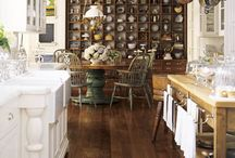 kitchen re-model ideas / by Lisa Papp