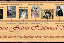 Christian Fiction Historical Society Posts / 31 noteworthy Christian historical fiction authors join forces to provide a new post daily. Whatever historical era you prefer, we have you covered.  / by Janalyn Voigt -- Creative Worlds of Fiction