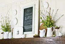mantel Ideas / by Jeanne Lentz