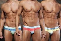 Men's Underwear / Men's underwear, fashion, hot models, models wearing underwear / by International Jock
