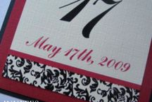 Wedding Table Numbers / by invitesbyjen