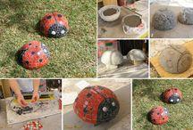 Garden n yard crafts / by melanie smith