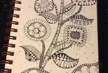Zentangle Nature / by Nancy D