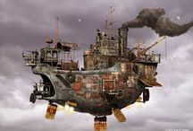 Steampunk / All things steampunk! / by Margo Bond Collins