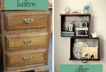 Old furniture, new ideas / by Jennifer Womack