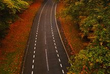 Streets, Roads, Lanes and Paths / by Ronald Hoffman