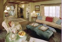 Interior - English Cottage / by pachicaboo
