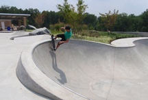 Skatepark Bowls / Pools, bowls and transition from public/private skateparks / by SPOHN RANCH SKATEPARKS