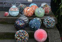 bowling ball art / by Penny Herbert