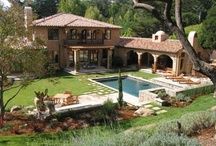 Mediterranean/Tuscan homes / by Michelle Marshall