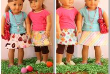 Doll clothes / by Cathy Flaskal