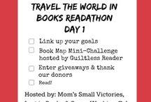 Travel the World in Books Readathon / by Renee @ MDBR