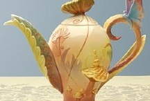 Teapots & Cups / Time for a cup of Tea  / by Alida Yazmin Bates