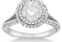 Double Halo Engagement Ring / Welcome to our board where we showcase our best double halo engagement ring settings and designs. Allurez.com is the premier source for designer diamond rings, engagement rings, wedding rings and find diamonds.  / by Allurez